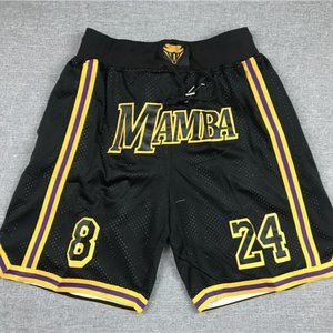 🤞NWT🤞Lakers Mamba black shorts🤞
